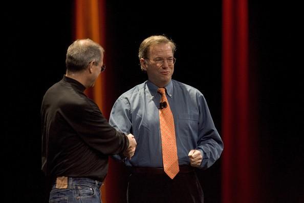 Jobs and Schmidt